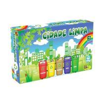 Jogo Cidade Limpa - Nig Brinquedos -