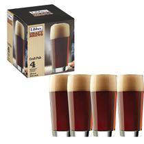 Jogo Com 4 Copos de Cerveja Craft  Pub Pint 591ml - Libbey -