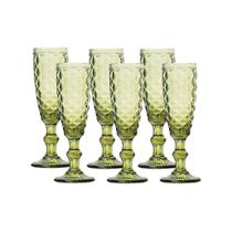 Jogo com 6 Taças para Champagne 140 ML - Hauskraft