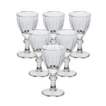 Jogo com 6 Taças para Licor de Cristal 50ml Athenas - Lyor -