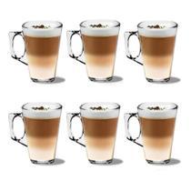 Jogo com 6 Xícaras 140ml Tipo Nespresso Azaleia Experience - Wincy