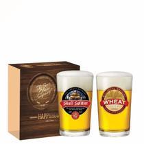Jogo Copos Cerveja Caldereta Decorado 300ml 2 Peças Ruvolo -