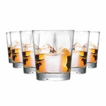 Jogo Copos Whisky Event On The Rocks Vidro 320ml 6 Pcs - Ruvolo