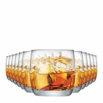 Jogo Copos Whisky New York On The Rocks Vidro 325ml 12 Pcs - Ruvolo