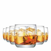 Jogo Copos Whisky New York On The Rocks Vidro 325ml 6 Pcs - Ruvolo
