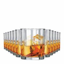 Jogo Copos Whisky Octon On The Rocks Vidro 280ml 12 Pcs - Ruvolo