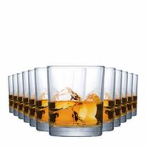 Jogo Copos Whisky Prestige On The Rocks Vidro 340ml 12 Pcs - Ruvolo