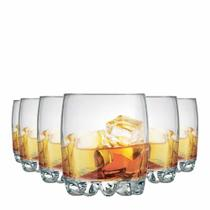 Jogo Copos Whisky Riviera On The Rocks Vidro 310ml 6 Pcs - Ruvolo