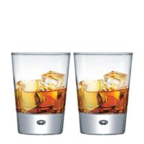 Jogo Copos Whisky Strange On The Rocks Vidro 275ml 2 Pcs - Ruvolo