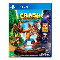 Jogo Crash Bandicoot N Sane Trilogy Playstation 4 - Sony