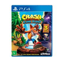Jogo Crash Bandicoot N Sane Trilogy - PS4 - Sony