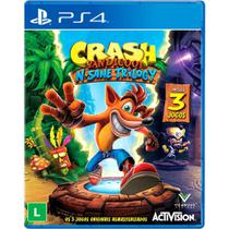 Jogo Crash Bandicoot N'sane Trilogy - Ps4