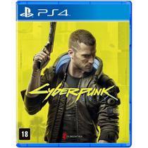 Jogo Cyberpunk 2077 - PS4- Br Mídia Física - Cd Projekt Red