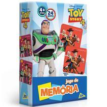 Jogo da Memória - 24 Pares - Toy Story 4 - Disney - Toyster -