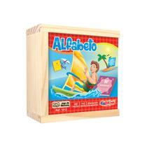 Jogo da Memória Alfabetização Caixa em Madeira - Ciabrink
