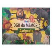 Jogo da Memória Animais 26 Peças Brinquedo Educativo - Minitoys