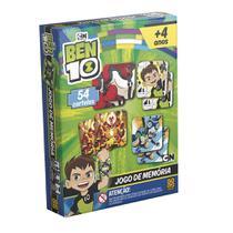 Jogo da Memória  Ben 10 - 54 peças - Grow -