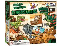 Jogo da Memória Dinossauros Pais e Filhos - 40 Cartas