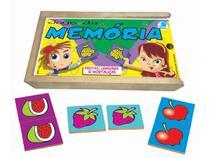 Jogo da Memória Infantil Frutas, Legumes e Hortaliças - Simque