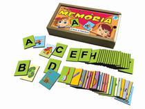 Jogo da Memória Infantil Letras e Figuras - Simque