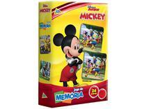 Jogo da Memória Jak Disney Júnior Mickey - 48 Cartas