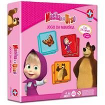 Jogo Da Memoria Masha e o Urso - Estrela -