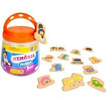 Jogo Da Memória Mundo Bita Infantil Pedagógico - Nig - Nig Brinquedos