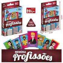 Jogo da memoria profissoes com 54 cartas na caixa - Pais E Filhos