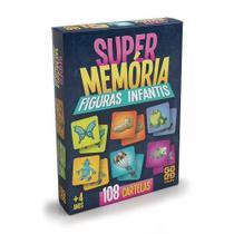 Jogo da Memoria  Super Memória Figuras Infantis- Grow -