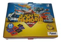 Jogo Da Memória Veículos 30 Peças Xplast -
