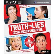 Jogo Da Verdade Truth Or Lies - Ps3 - Divertidissimo - Thq