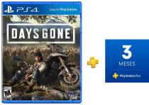 Jogo Days Gone + 3 meses de Playstation Plus - Blend studio + sony