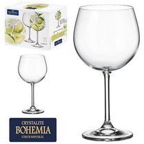 Jogo de 2 Taças de Gin de Cristal Gin Tonic Bohemia 620 ML - Bohemia Crystal