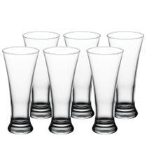 Jogo de 3 copos para cerveja Pub em vidro 320ml A19cm transparente - Pasabahce