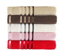 Jogo de 5 toalhas de banho kit toalha kit banho jogo de toalha - Kgd
