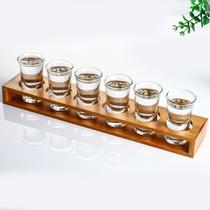Jogo De 6 Copo Aperitivo De Vidro 40ml Licor Whisky Cachaça - Nova