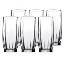 Jogo de 6 copos Dance em vidro 320ml A14,5cm transparente - Pasabahce