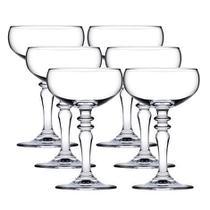 Jogo de 6 Taças para champanhe vintage Symphony em vidro 220ml A15cm - Pasabahçe