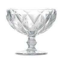 Jogo de 6un Taças Sobremesa Diamond 310ml Transparente - Lyor