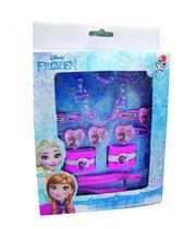 Jogo De Acessórios Para Cabelo Ana  Elsa Frozen (Rosa) - Disney - Minas presentes