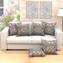 Jogo de Almofada Estampada para Sofá Decorativa  - Moda Casa Enxovais