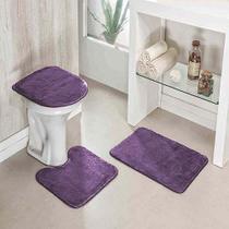 Jogo de banheiro Lux Pop Carpete sortido - Oitonline