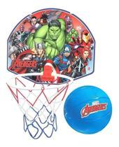 Jogo De Basquete Vingadores Avengers Com Tabela + Aro + Bola - Líder
