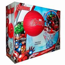 Jogo De Basquete Vingadores Avengers Com Tabela + Aro + Bola - Lider -