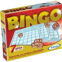 Jogo de Bingo Bingo de Pedras de Madeira - Xalingo