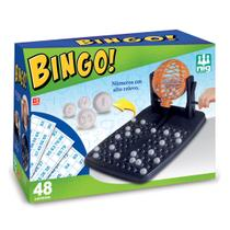 Jogo de Bingo com 48 Cartelas e Globo Giratório - Nig -