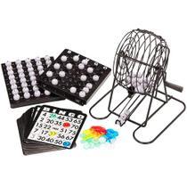 Jogo de Bingo com Roleta e Fichas - RedStar -