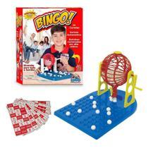 Jogo De Bingo Roleta 48 Cartelas 90 Bolinhas Brinquedos - Lugo Brinquedos