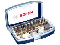 """Jogo de Bits Bosch 1/4"""" 2607017359 - 32 Peças"""