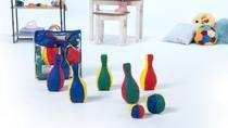 Jogo de Boliche em Espuma - Ldm Brinquedos Educativos
